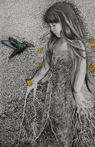'The-Crying-Tree-of-Mercury'_36x55,5-cm_graphite,watercolor-and-colored-pencils-on-paper_2012