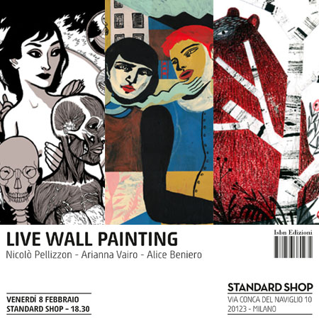 EXHIBITION *LIVE PAINTING AT STANDARD SHOP ISBN