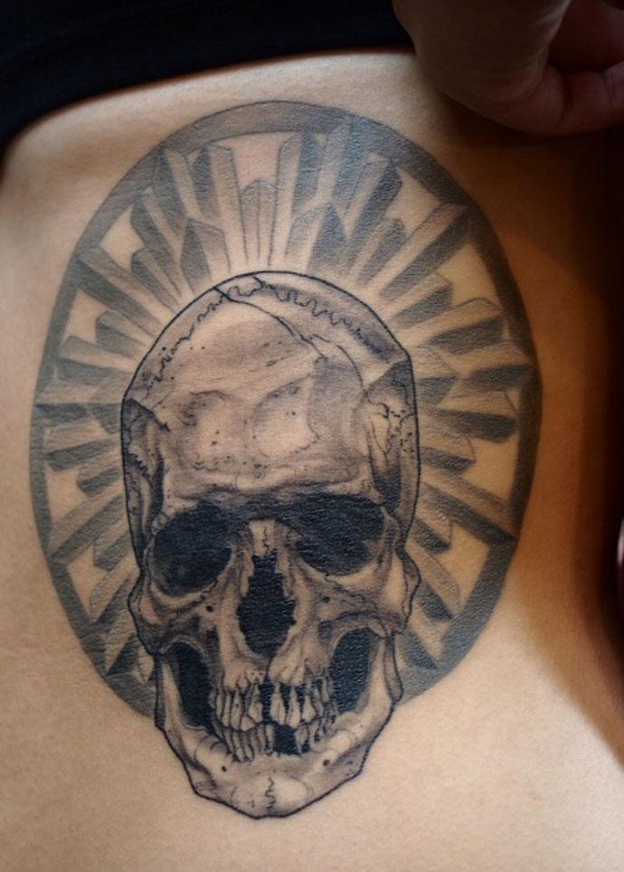 skull-and-halo