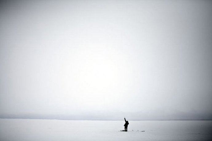 7. MIcheal C. Brown, Ice fisherman, 2008, Courtesy ILEX Gallery