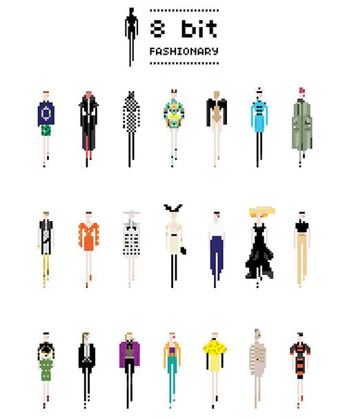 Immagine complessiva 8 bit Fashionary