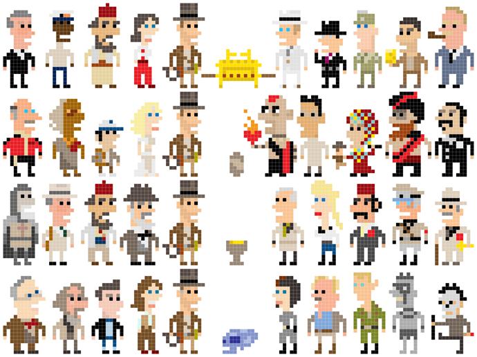Indiana Jones Iotacons