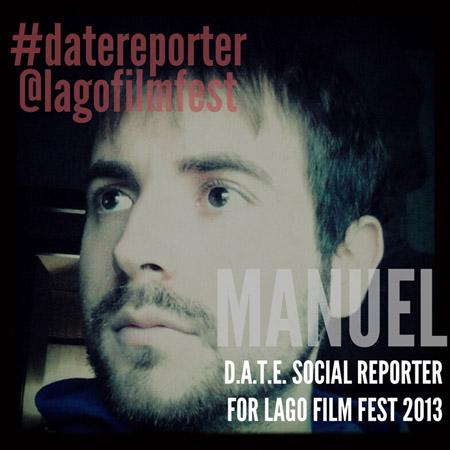D.A.T.E. SOCIAL REPORTER#1<br /> *MANUEL @ LFF