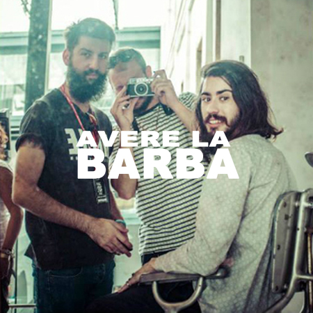 BOOK PROJECT<br>*AVERE LA BARBA