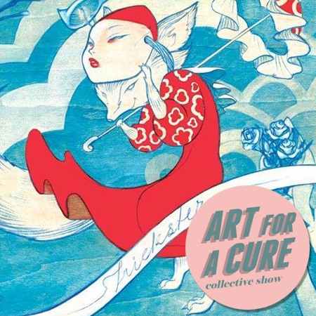 EXHIBITION<br />*ART FOR A CURE