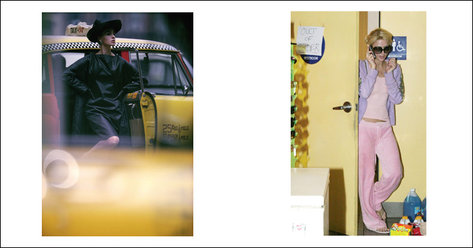 A sinistra © William Klein e, a destra, © Sébastien Valiela - Eyewitness