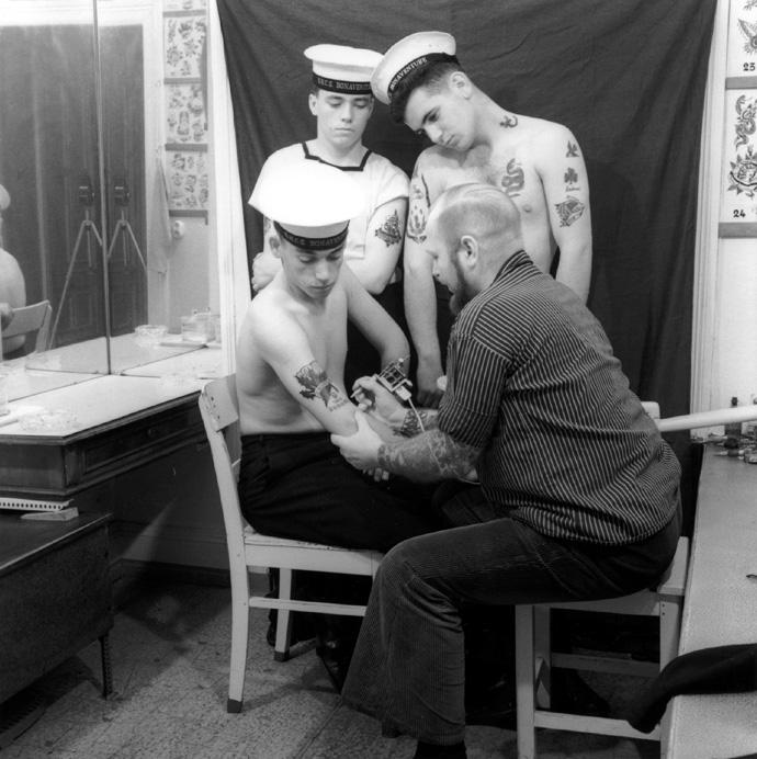 Amburgo 1966 - Photo, schwarz-weiß © Courtesy Herbert Hoffmann and Galerie Gebr. Lehmann Dresden-Berlin