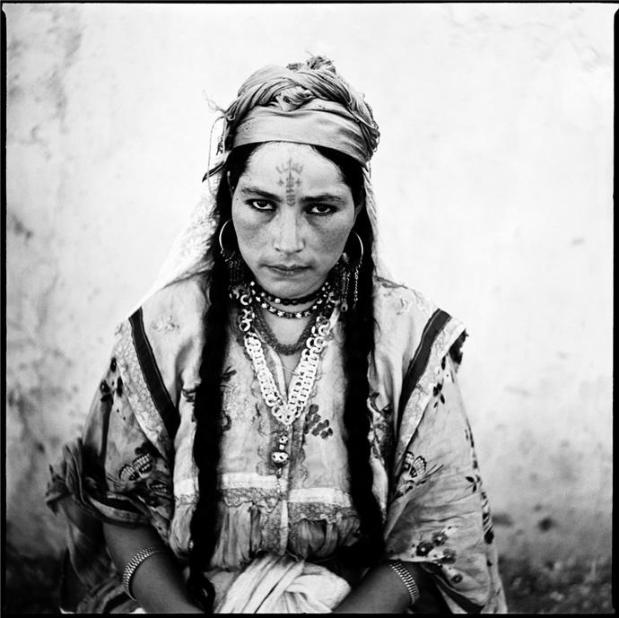 Ritratto di donna algerina - © Marc Garanger - Collezione dell'artista