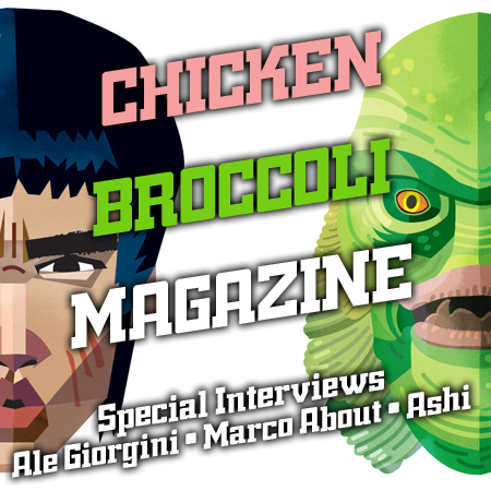 CINEMA & ARTE<br>*CHICKEN BROCCOLI MAGAZINE INTERVIEWS#1