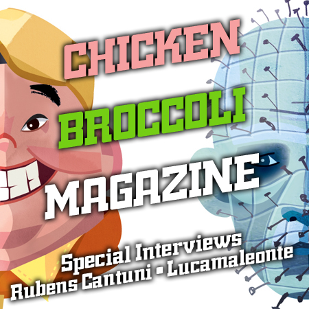 CINEMA & ARTE*CHICKEN BROCCOLI MAGAZINE INTERVIEWS#2