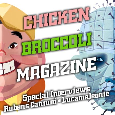 CINEMA & ARTE*CHICKEN BROCCOLI MAGAZINE INTERVIEWS#2