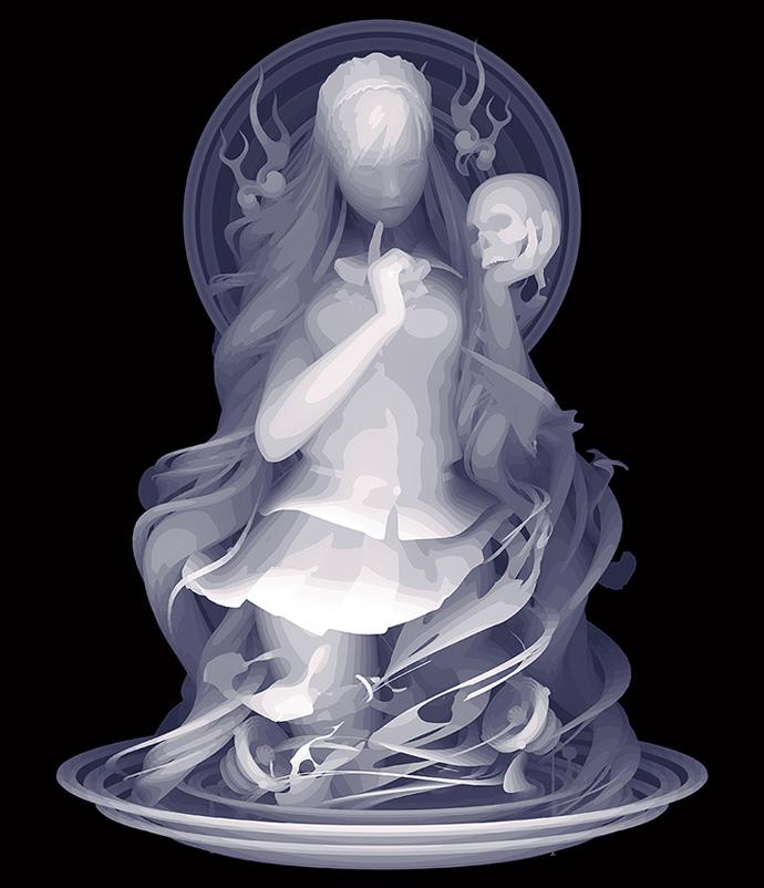 Kazuki-Takamatsu_You-&-I_53-x-45.5cm_acrylic,-acrylic-gouache,-medium,-gesso,-giclee-on-tarpaulin_dorothycircusgallery
