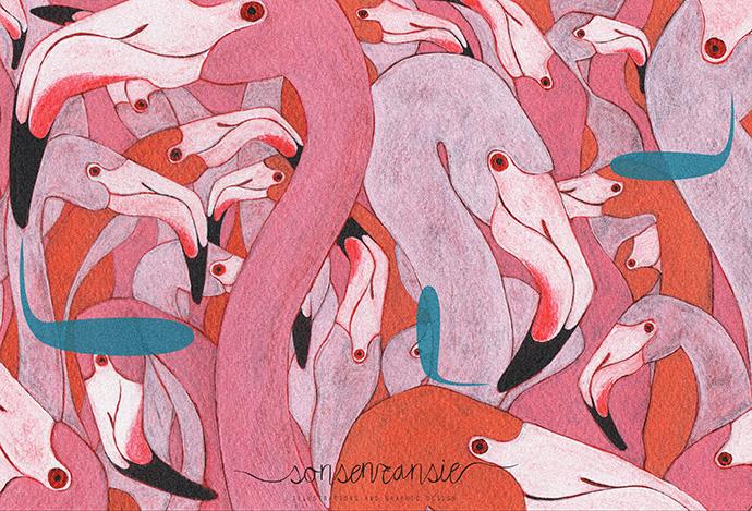 los_flamingos_5x1