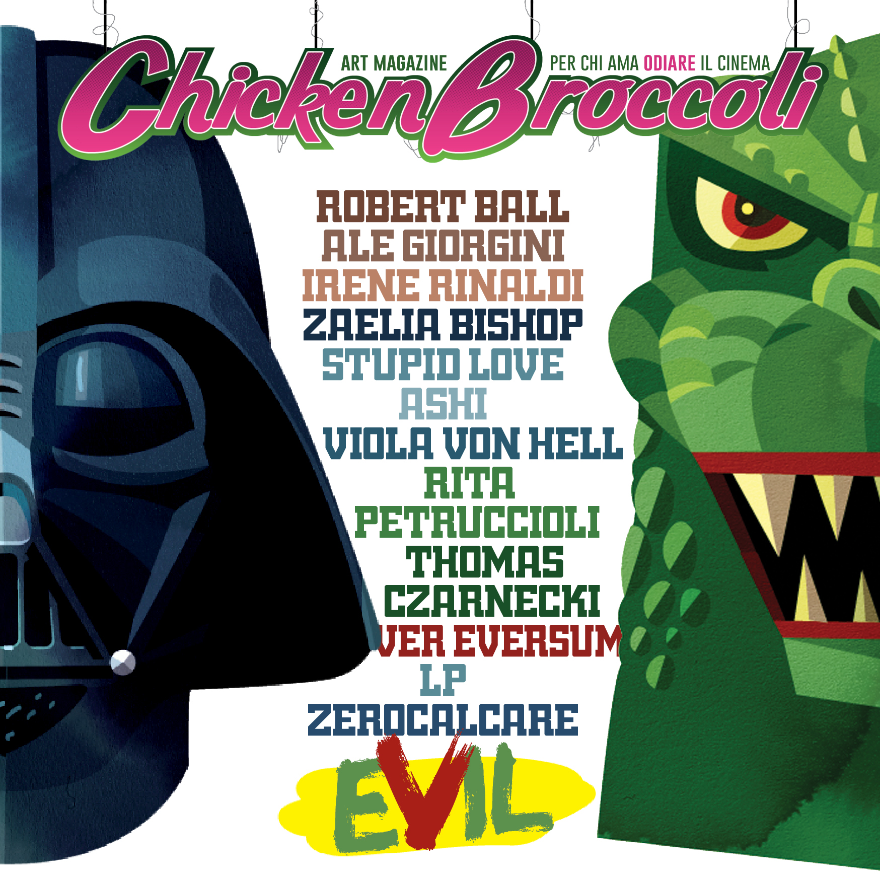 CB MAGAZINE cover EVIL