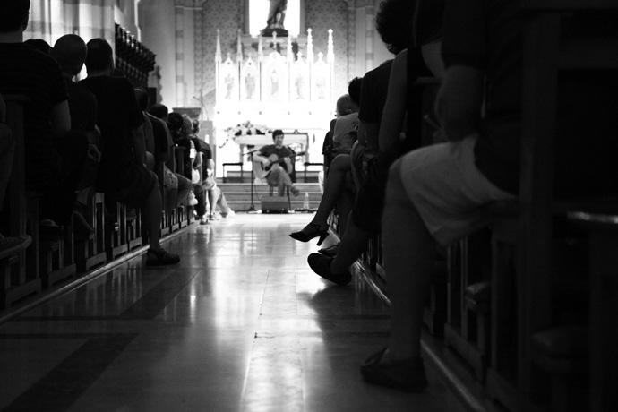 pienone in chiesa