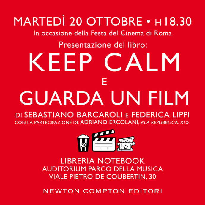 KEEP CALM E GUARDA UN FILM invito presentazione.quadrato