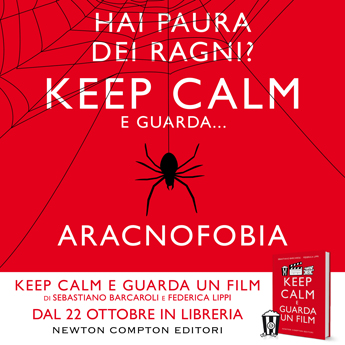 KEEP CALM E GUARDA UN FILM promo ARACNOFOBIA