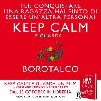 KEEP CALM E GUARDA UN FILM promo BOROTALCO