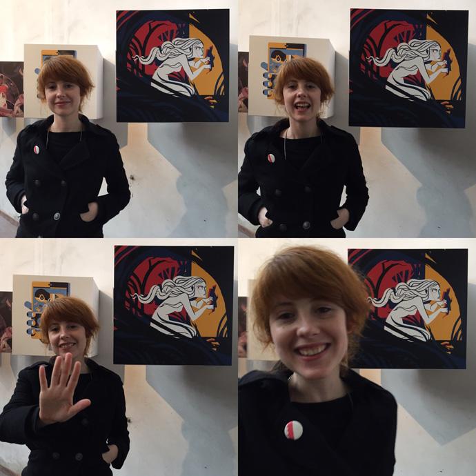"""Rita Petruccioli e la sua illustrazione per il progetto """"50x50x50"""""""