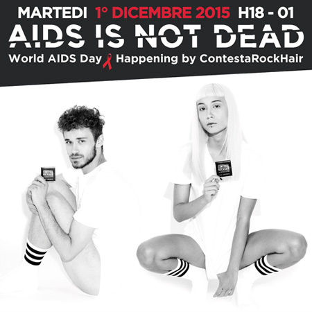 HAPPENING <br>*AIDS IS NOT DEAD