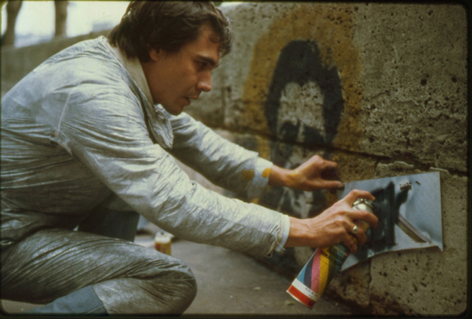 Blek le Rat - Parigi 1983 - © Rosine Klatzman