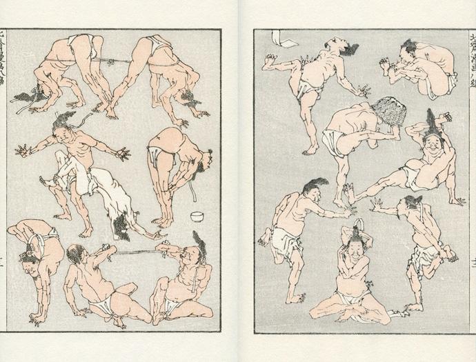 Katsushika Hokusai Hokusai Manga, 8 1818 © UNSODO. Inc