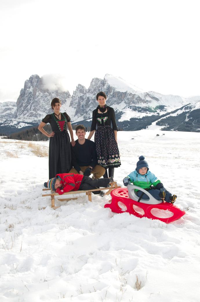The Kostners, Tirolo (2024)