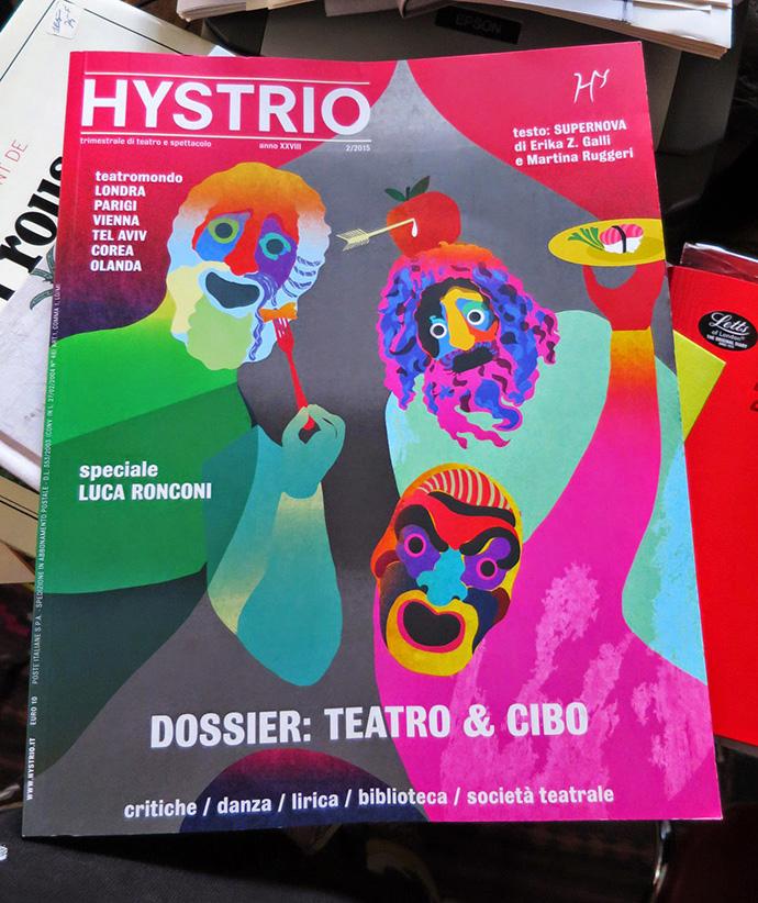 #hystrio-#theatrefood-#chiaradattola
