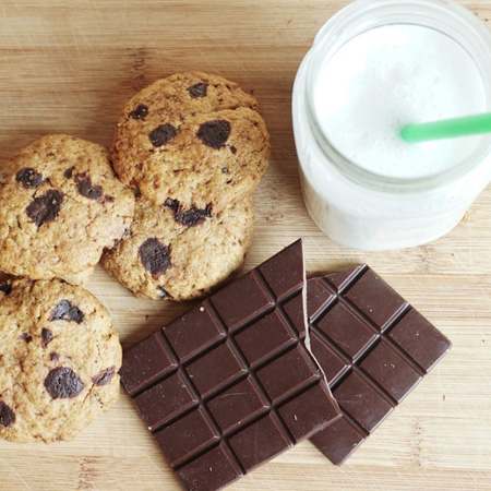 HEALTY FOOD <br />*COOKIES AL CIOCCOLATO
