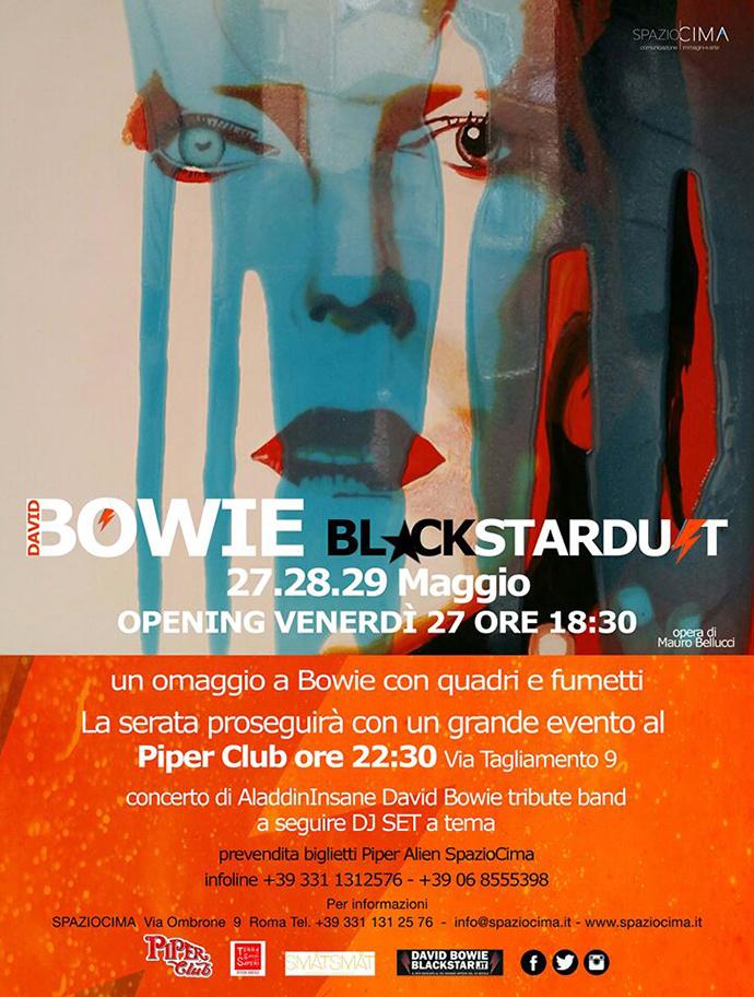Bowie locandina