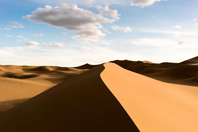 mongolia gobi deseert dune