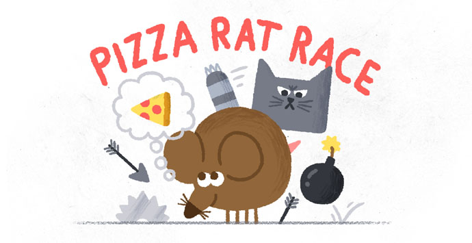 pizza rat race apre