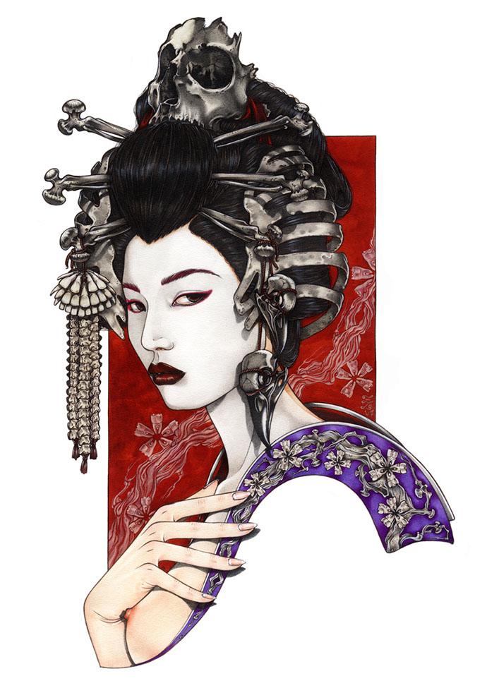 Geisha of the Bones