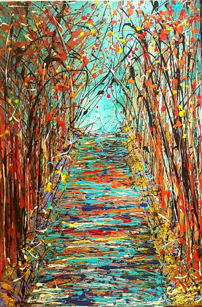 autumn-seasons-series-36x24inches-mixed-media-on-canvas-2016-nyc