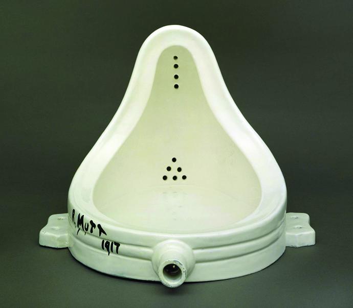 Fountain 1917, replica 1964 by Marcel Duchamp 1887-1968