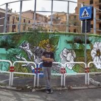 STREET ART</br> *DELOLLIS 12 &#8211; LUCAMALEONTE