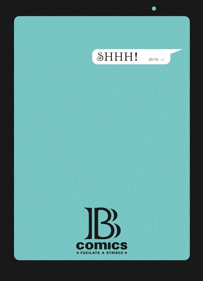 B comics cover SHHH!