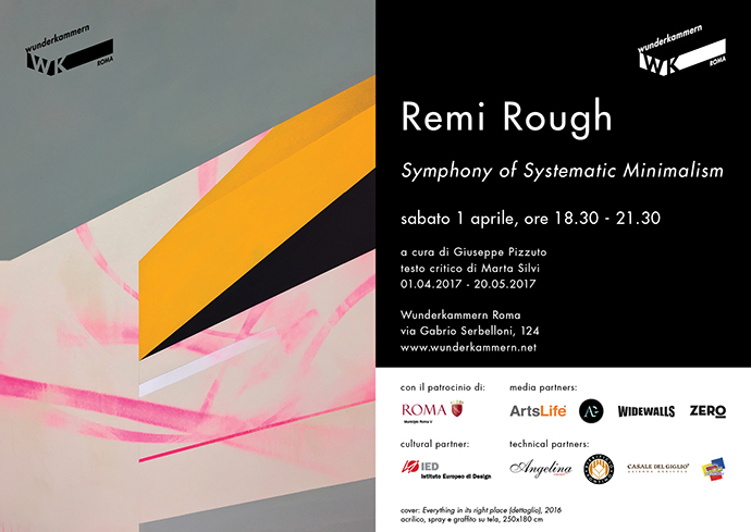 WK_Remi Rough__Symphonyofsystematicminimalism_invitation_Horizontal_IT