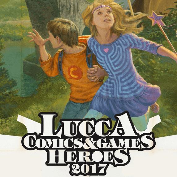 FUMETTI <br> *LUCCA COMICS &#038; GAMES 2017