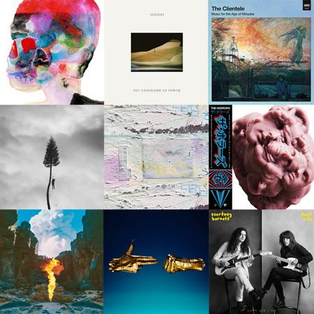 MUSICA <br> *TOP 2017 STRANIERI #2