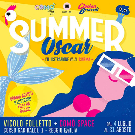 CINEMA&#038;ILLUSTRAZIONE <br> *SUMMER OSCAR