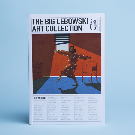 BOOK <br> *THE BIG LEBOWSKI ART COLLECTION
